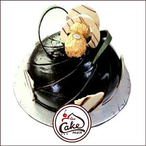 Ferrero Rocher Cake.