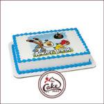 Angry Bird Photo Cake