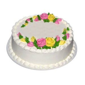 Pineapple Rose Cake