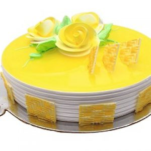 Designer Pineapple Jelly Cake