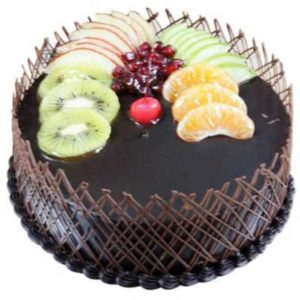 Special Chocolate Fruit Cake