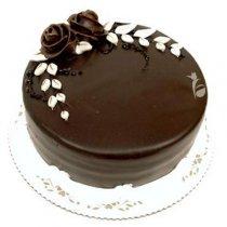 Choco Flower Cake.