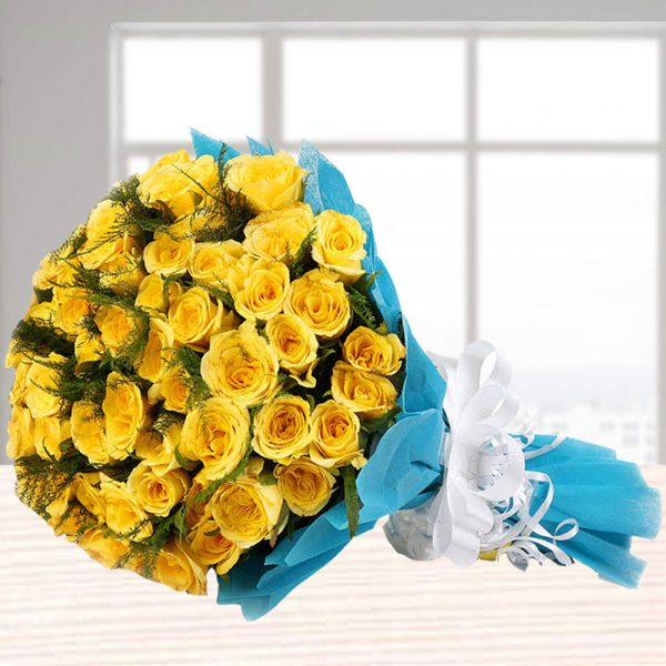 elegant_yellow_roses_bunch